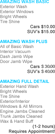 AMAZING WASH BASIC Exterior Was